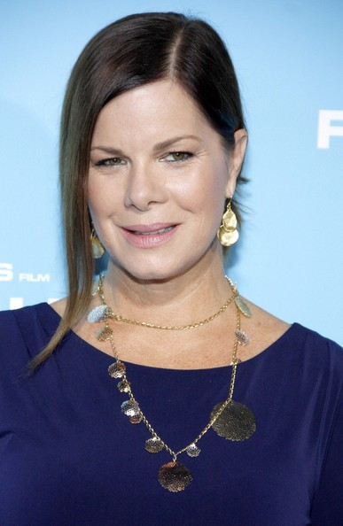 Marcia Gay Harden Loose Bun