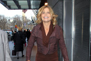 Mariel Hemingway Leather Jacket