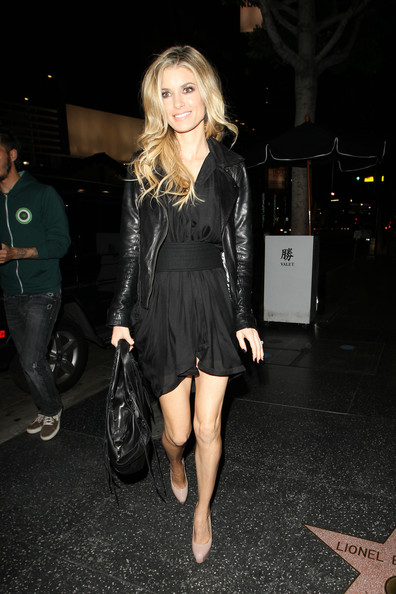 Marisa Miller Leather Jacket