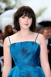 Alexandra Roach chose this chopped bob with blunt bangs for her edge and cool look at the BAFTA Awards.