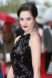 Paula Lane chose a totally classic look at the BAFTA TV Awards when she rocked this French Twist.