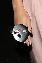 Rebecca Ferguson's massive multi-gem and mother-of-pearl statement ring totally stole the show at the Pride of Britain Awards.