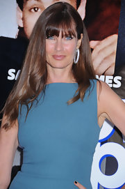 Carol Alt's big and bold bangs were front and center at the premiere of 'Grown Ups 2.'