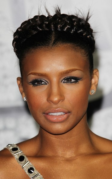 more pics of melody thornton braided bun 12 of 12