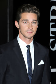 Shia LaBeouf sported a boyish wavy 'do at the premiere of 'Wall Street: Money Never Sleeps.'