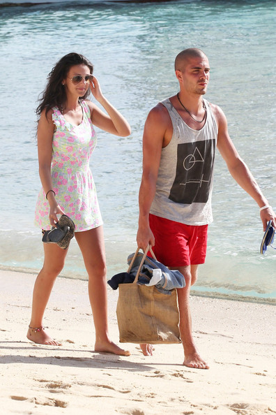 File Photos: Michelle Keegan and Max George