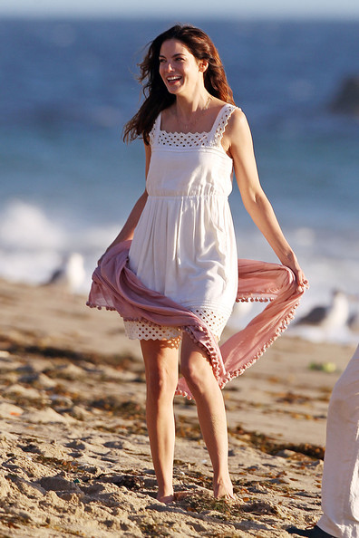 Michelle Monaghan Baby Doll Dress