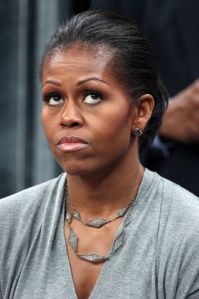 Michelle Obama Layered Sterling Necklace []