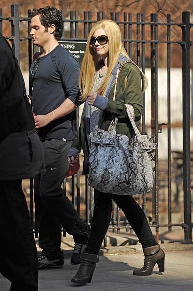 Michelle Trachtenberg Oversized Shopper Bag