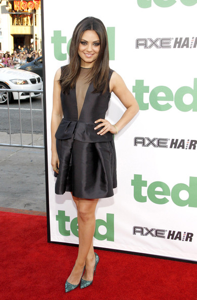 More Pics of Mila Kunis Little Black Dress (1 of 8) - Mila Kunis Lookbook - StyleBistro