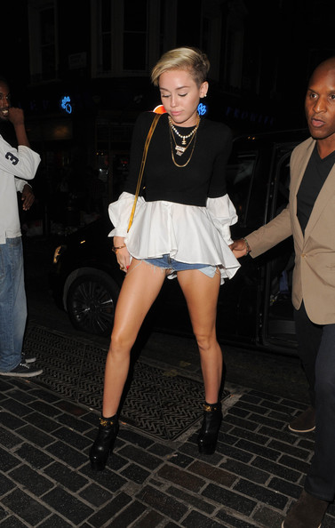 Miley Cyrus Loose Blouse