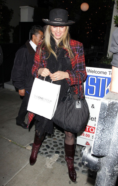 Mira Sorvino Knee High Boots