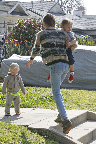Miranda Kerr and Flynn in Los Angeles