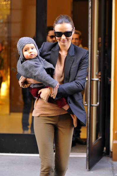 Miranda Kerr Out with Flynn in NYC
