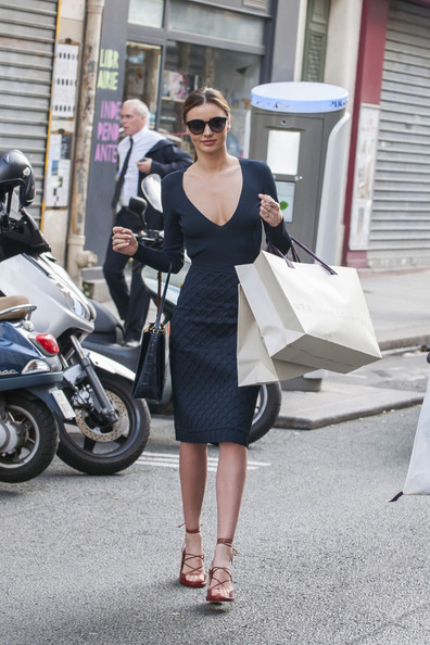 More Pics of Miranda Kerr Day Dress (1 of 19) - Day Dress Lookbook - StyleBistro
