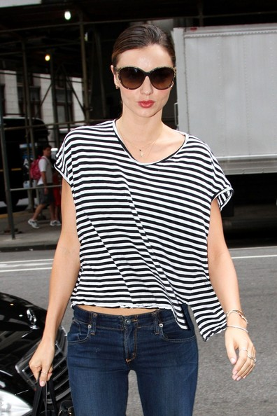 More Pics of Miranda Kerr T-Shirt (5 of 11) - Miranda Kerr Lookbook - StyleBistro