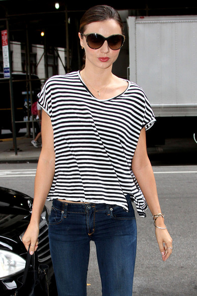 More Pics of Miranda Kerr T-Shirt (3 of 11) - Miranda Kerr Lookbook - StyleBistro
