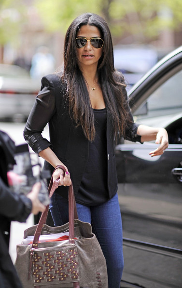 More Pics of Camila Alves Flare Jeans (1 of 7) - Camila Alves Lookbook - StyleBistro []