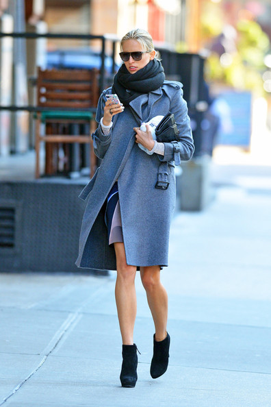 More Pics of Karolina Kurkova Wool Coat (3 of 5) - Karolina Kurkova Lookbook - StyleBistro