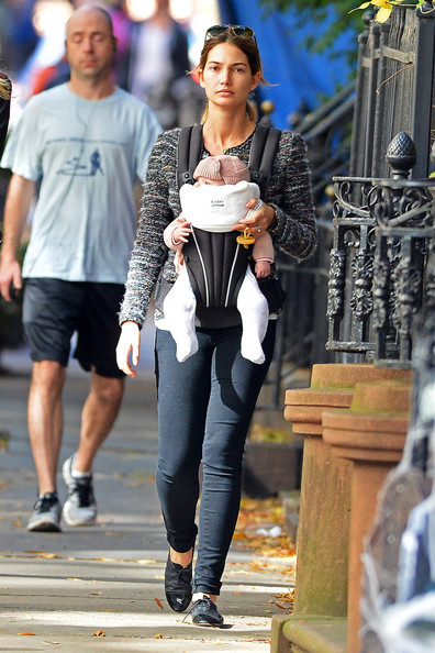 Lily Aldridge and Baby Dixie