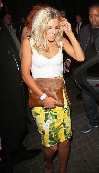 Mollie King Corset Top