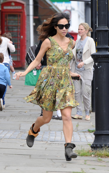 Myleene Klass Print Dress