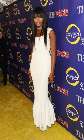 Naomi Campbell at 'The Face' Premiere