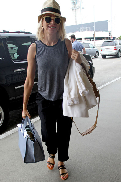 More Pics of Naomi Watts Harem Pants (1 of 13) - Naomi Watts Lookbook - StyleBistro