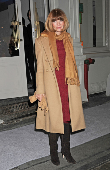 More Pics of Anna Wintour Wool Coat (1 of 1) - Anna Wintour Lookbook - StyleBistro