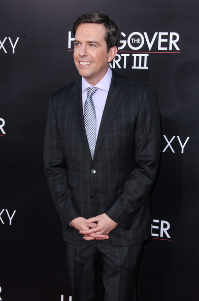 More Pics of Ed Helms Men's Suit (1 of 3) - Men's Suit Lookbook - StyleBistro