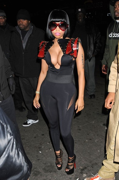 More Pics of Nicki Minaj Evening Pumps (3 of 9) - Nicki Minaj Lookbook - StyleBistro
