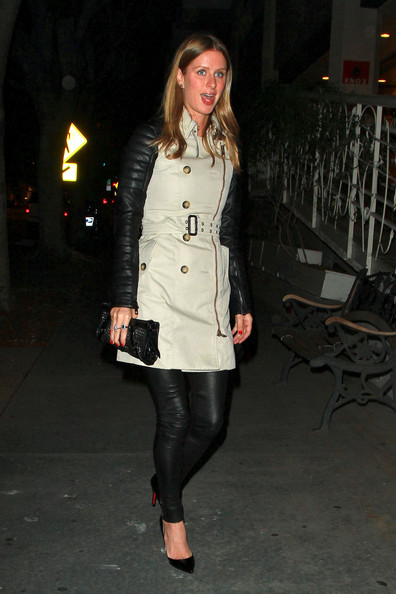 Nicky Hilton Studded Clutch