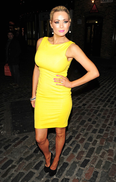 Nicola McLean Bandage Dress