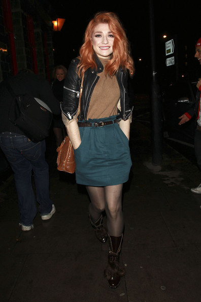 Nicola Roberts Lace Up Boots