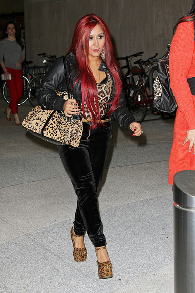 Snooki Out and About in NYC