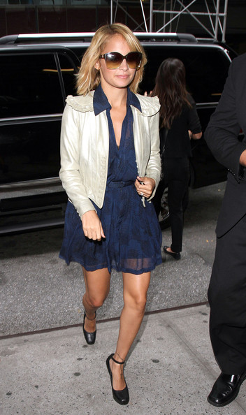 Nicole Richie Cropped Jacket
