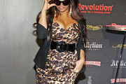 - Nicole 'Snooki' Polizzi makes an appearance for Revolution Eyewear at Vision Expo East held inside the Jacob Javits Convention Center in New York.