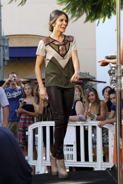 Nikki Reed V-Neck Tee
