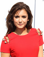 As if we weren't already jealous of Nina's tresses, her choppy layers made us just swoon.