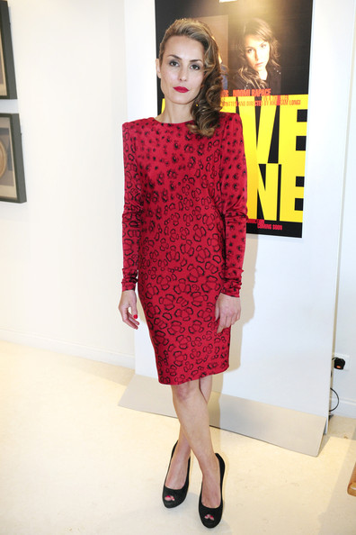 Noomi Rapace Print Dress