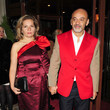 Christian Louboutin Sees Red