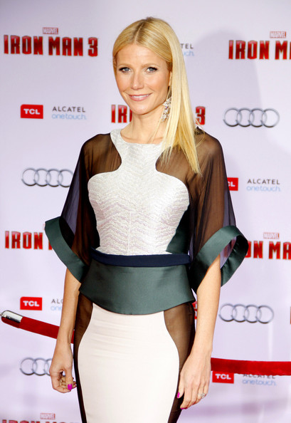 More Pics of Gwyneth Paltrow Long Straight Cut (3 of 5) - Gwyneth Paltrow Lookbook - StyleBistro
