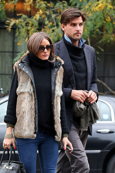 More Pics of Olivia Palermo Vest (3 of 6) - Olivia Palermo Lookbook - StyleBistro