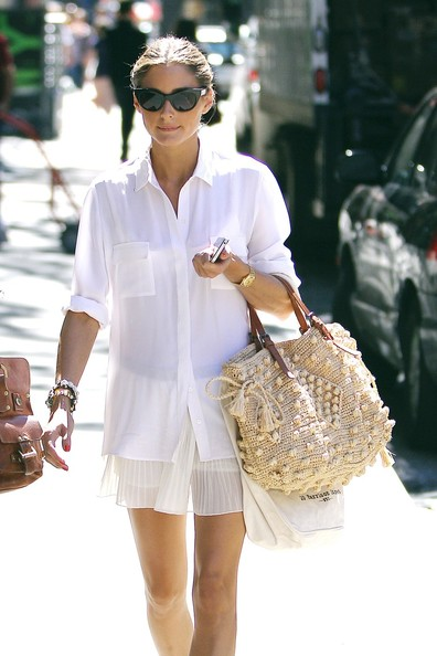 Olivia Palermo Button Down Shirt