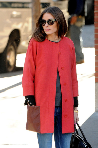 More Pics of Olivia Palermo Wool Coat (8 of 14) - Olivia Palermo Lookbook - StyleBistro