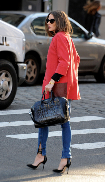 More Pics of Olivia Palermo Wool Coat (3 of 14) - Olivia Palermo Lookbook - StyleBistro