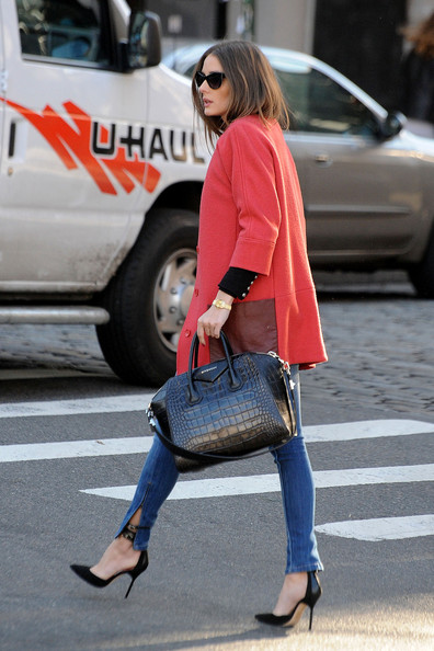 More Pics of Olivia Palermo Wool Coat (1 of 14) - Olivia Palermo Lookbook - StyleBistro