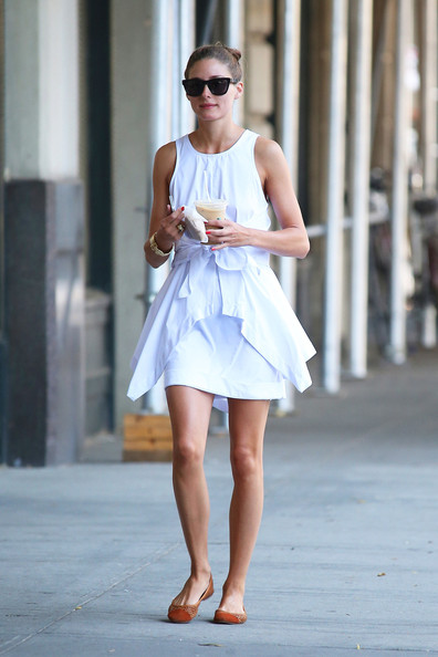More Pics of Olivia Palermo Day Dress (1 of 8) - Olivia Palermo Lookbook - StyleBistro