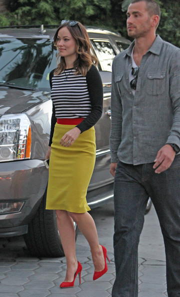 Olivia Wilde Pencil Skirt