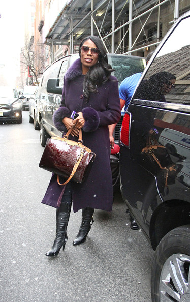 More Pics of Omarosa Manigault Wool Coat (5 of 9) - Omarosa Manigault Lookbook - StyleBistro